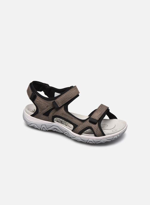 Zapatillas de deporte ALLROUNDER Larisa Gris vista de detalle / par