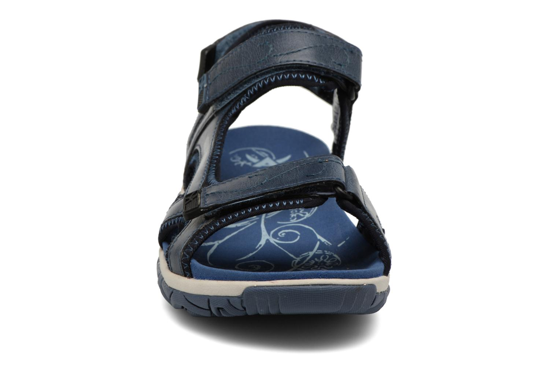 Chaussures de sport Allrounder by Mephisto Larisa Bleu vue portées chaussures