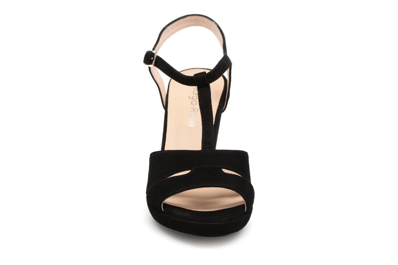 Sandales et nu-pieds Georgia Rose Lapatou Noir vue portées chaussures