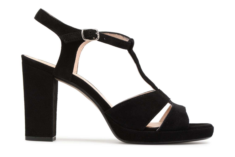 Sandales et nu-pieds Georgia Rose Lapatou Noir vue derrière