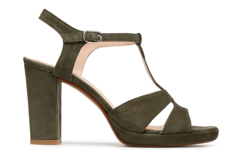 Sandales et nu-pieds Georgia Rose Lapatou Vert vue derrière