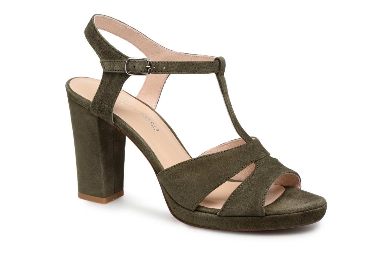 Sandales et nu-pieds Georgia Rose Lapatou Vert vue détail/paire