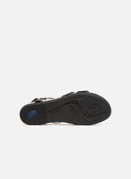 Sandales et nu-pieds Stonefly Eve 13 Noir vue haut