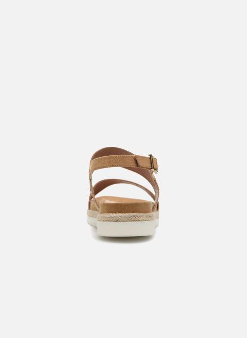 Sandales et nu-pieds Stonefly Avril 3 Marron vue droite