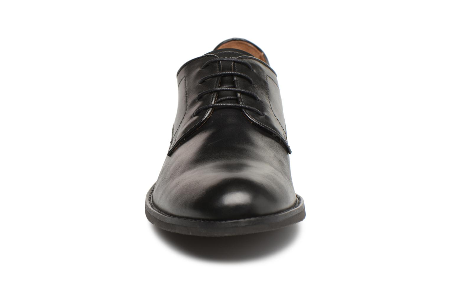 Lace-up shoes Stonefly Casey 1 Black model view