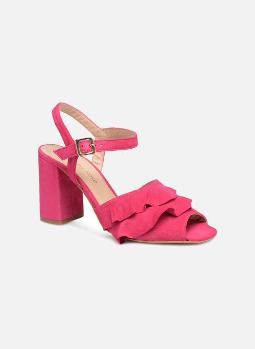 Sandales et nu-pieds Georgia Rose Anvola Rose vue détail/paire