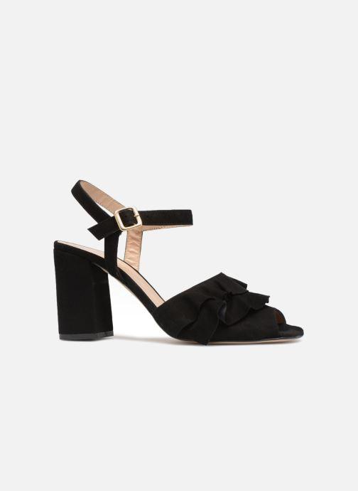 Sandales et nu-pieds Georgia Rose Anvola Noir vue derrière