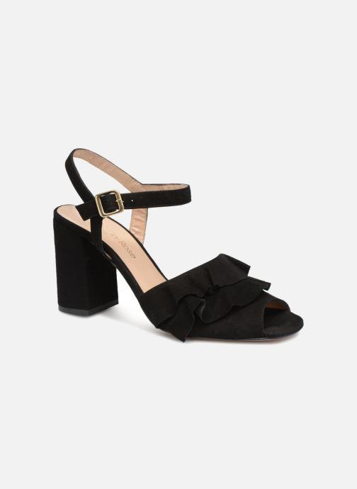 Sandales et nu-pieds Georgia Rose Anvola Noir vue détail/paire