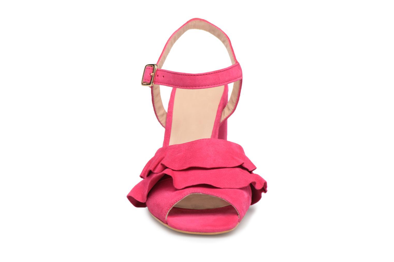 Sandales et nu-pieds Georgia Rose Anvola Rose vue portées chaussures