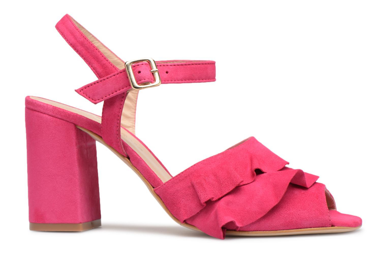 Sandales et nu-pieds Georgia Rose Anvola Rose vue derrière