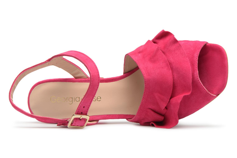 Sandales et nu-pieds Georgia Rose Anvola Rose vue gauche