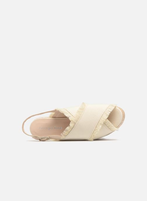 Sandales et nu-pieds Georgia Rose Afrane Beige vue gauche