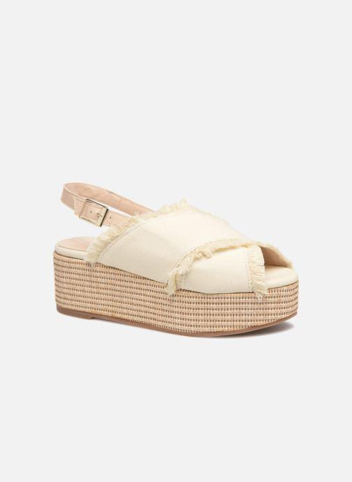 Sandales et nu-pieds Georgia Rose Afrane Beige vue détail/paire