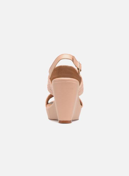 Georgia Rosa Abloca (beige) - Más Sandalen bei Más - cómodo d10800