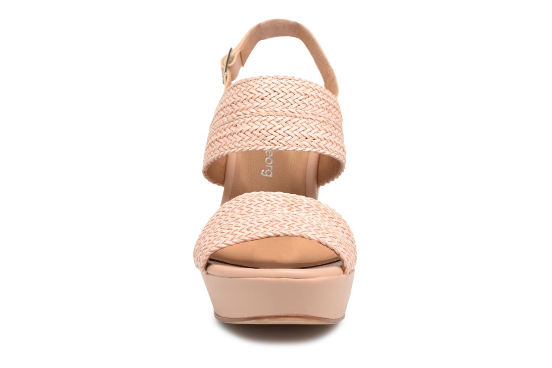 Sandales et nu-pieds Georgia Rose Abloca Beige vue portées chaussures