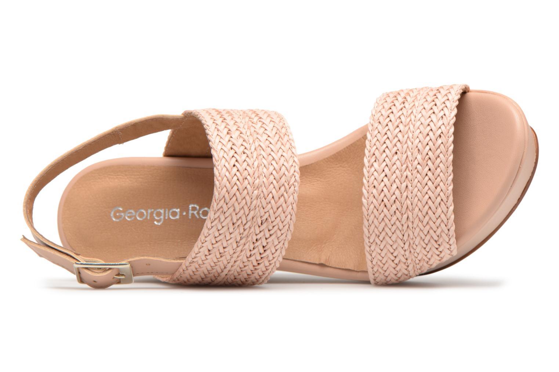 Sandales et nu-pieds Georgia Rose Abloca Beige vue gauche