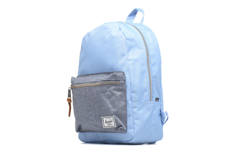 Rucksäcke Herschel Grove XS blau schuhe getragen