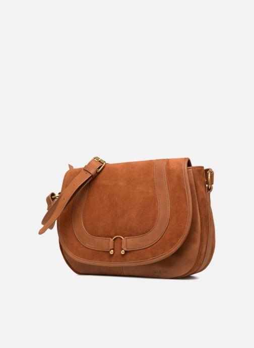 Handtaschen Nat & Nin CLAUDIA braun schuhe getragen