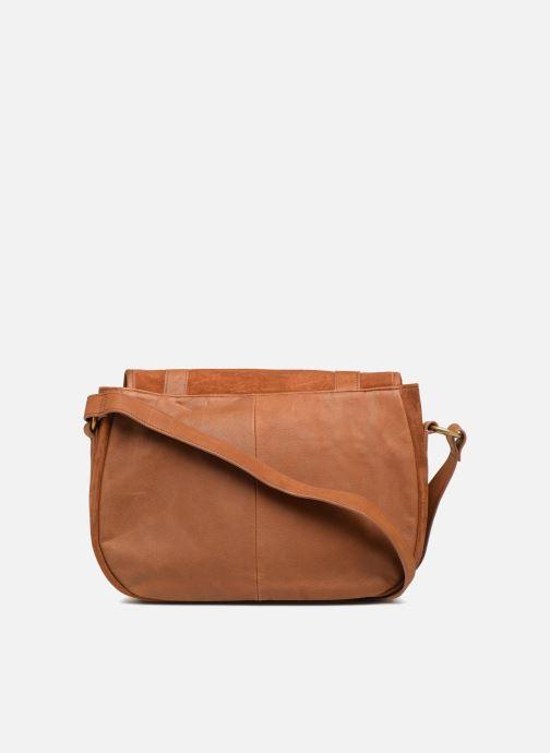 Handtaschen Nat & Nin CLAUDIA braun ansicht von vorne