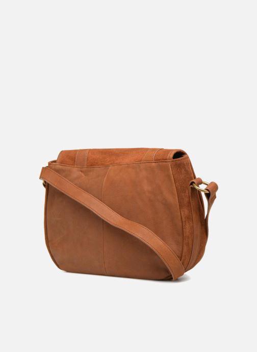 Handtaschen Nat & Nin CLAUDIA braun ansicht von rechts