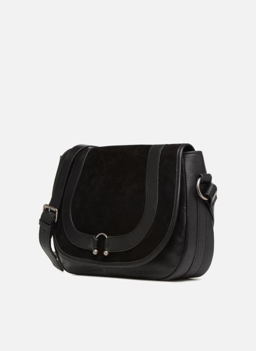 Handtaschen Nat & Nin CLAUDIA schwarz schuhe getragen