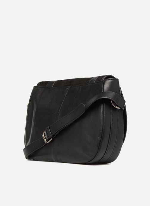 Handtaschen Nat & Nin CLAUDIA schwarz ansicht von rechts