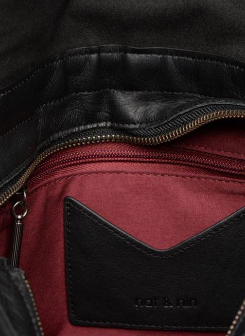 Handtaschen Nat & Nin CLAUDIA schwarz ansicht von hinten