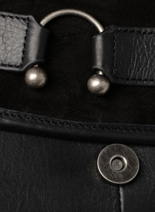 Handtaschen Nat & Nin CLAUDIA schwarz ansicht von links