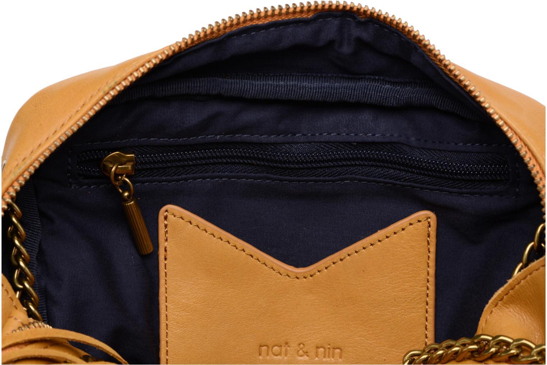 Handtaschen Nat & Nin GIULIA gelb ansicht von hinten