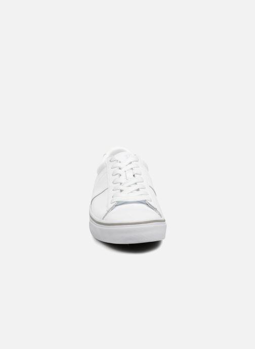 Baskets Polo Ralph Lauren Sayer Blanc vue portées chaussures