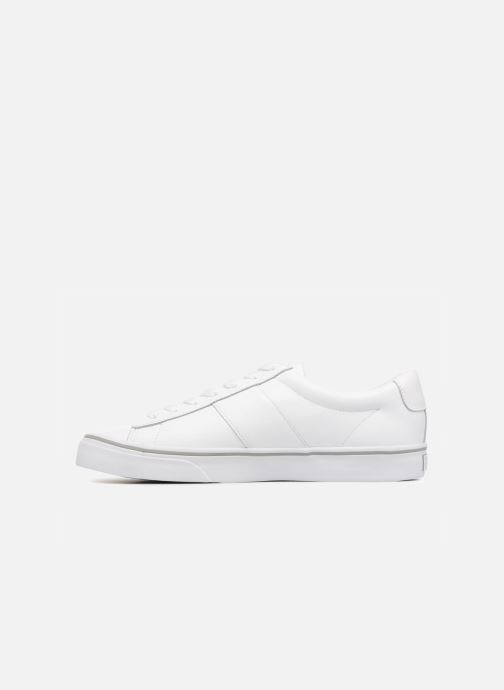 Sneakers Polo Ralph Lauren Sayer Hvid se forfra