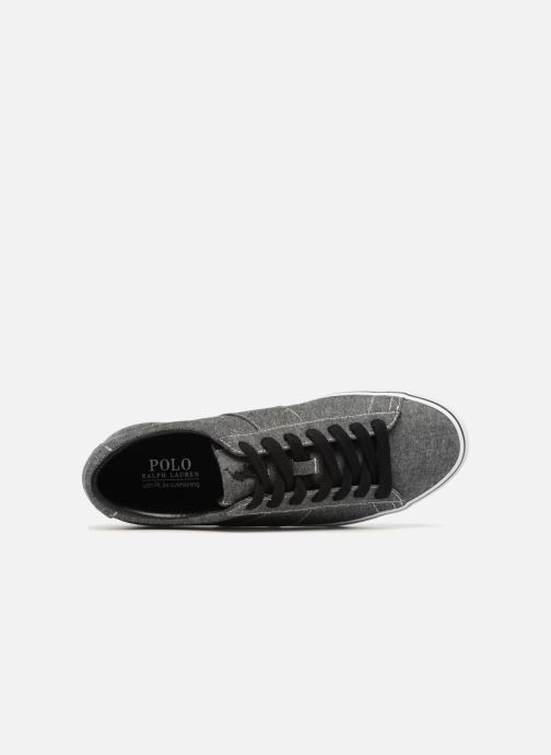 Baskets Polo Ralph Lauren Sayer Noir vue gauche