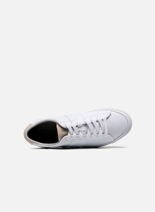 Baskets Polo Ralph Lauren Sayer Blanc vue gauche