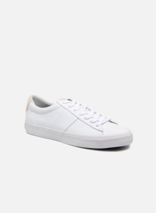 Baskets Polo Ralph Lauren Sayer Blanc vue détail/paire