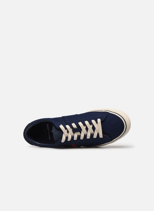 Baskets Polo Ralph Lauren Sayer Bleu vue gauche