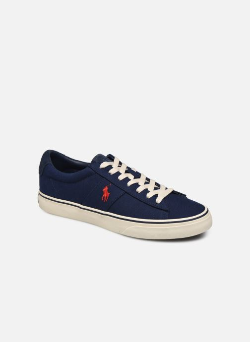 Baskets Polo Ralph Lauren Sayer Bleu vue détail/paire