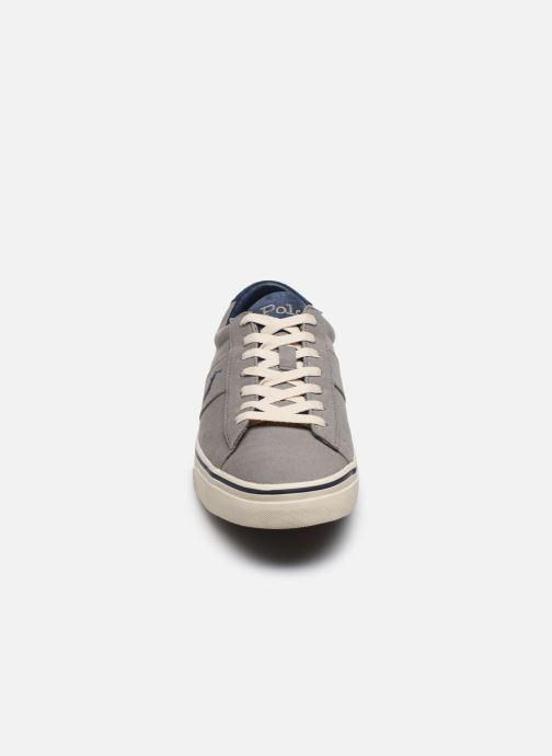 Baskets Polo Ralph Lauren Sayer Gris vue portées chaussures