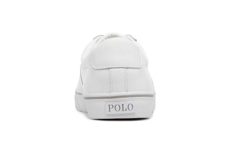 Baskets Polo Ralph Lauren Sayer Blanc vue droite