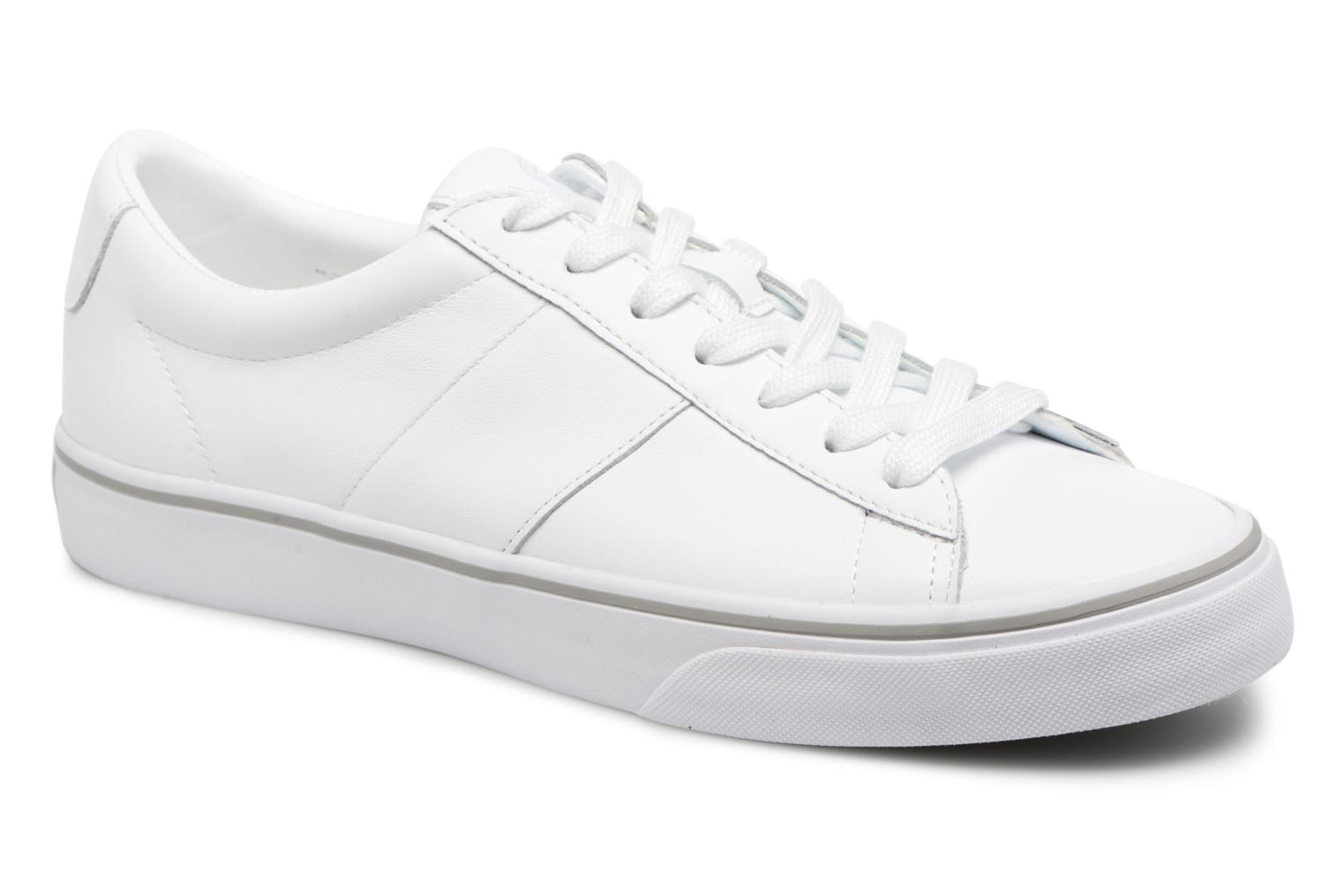 Trainers Polo Ralph Lauren Sayer White detailed view/ Pair view