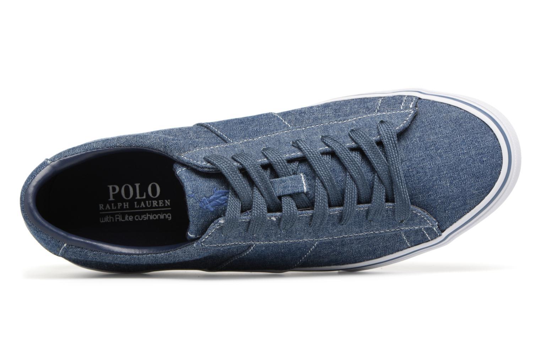 Baskets Polo Ralph Lauren Sayer Bleu vue gauche