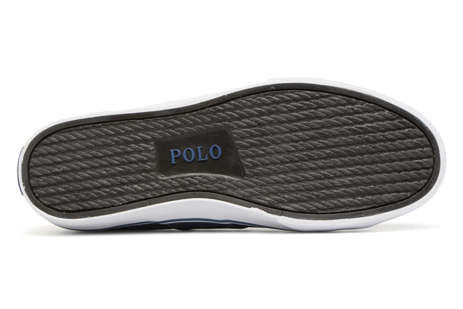 Trainers Polo Ralph Lauren Sayer Blue view from above