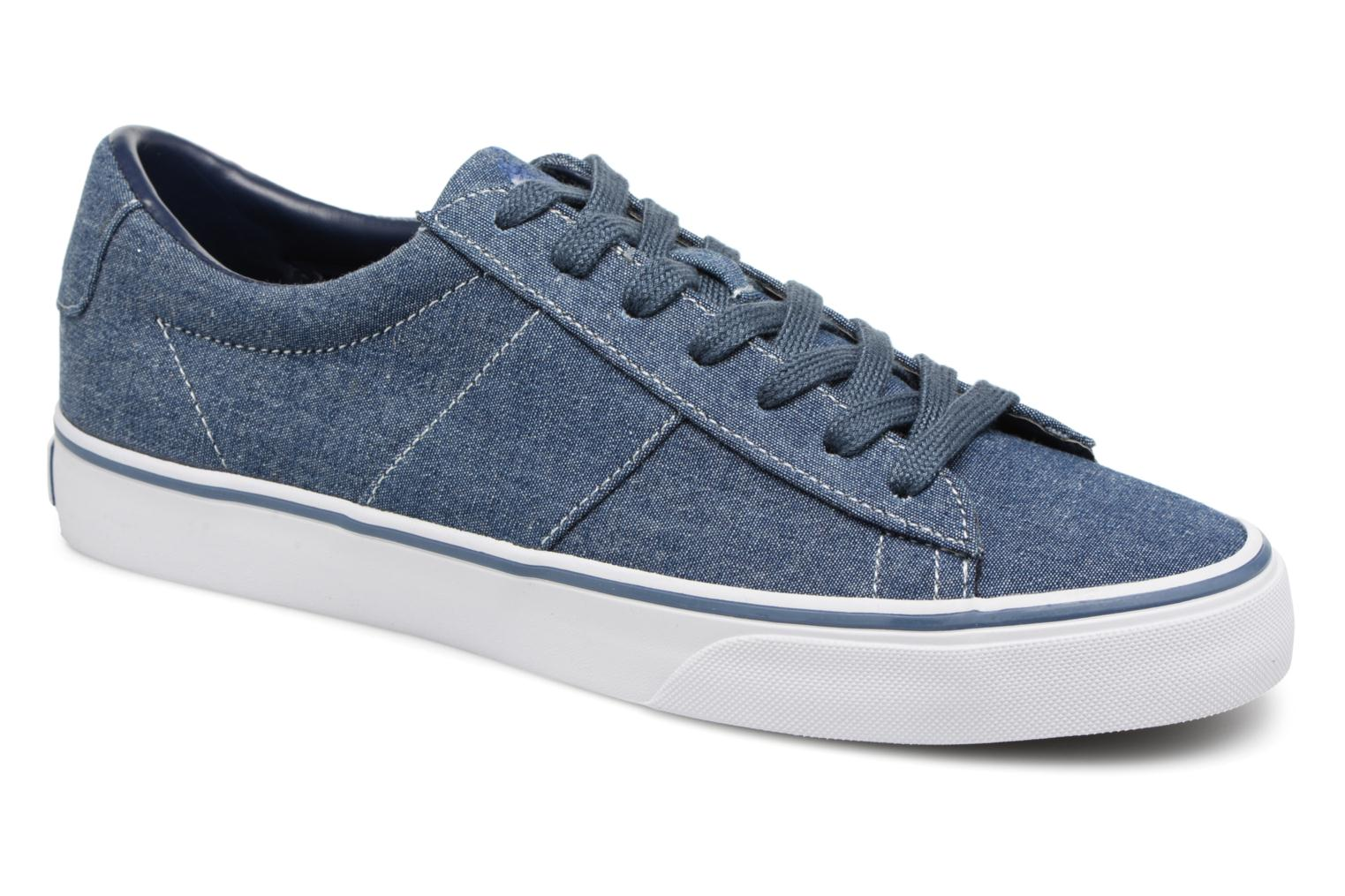 Trainers Polo Ralph Lauren Sayer Blue detailed view/ Pair view