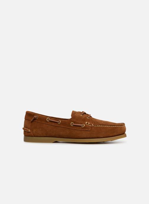 Zapatos con cordones Polo Ralph Lauren Merton Marrón vistra trasera