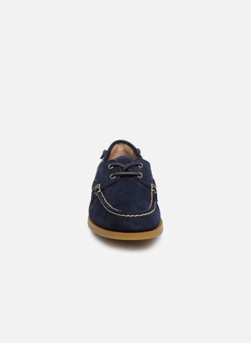 Chaussures à lacets Polo Ralph Lauren Merton Bleu vue portées chaussures