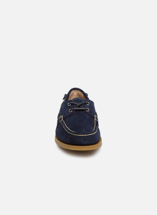 Zapatos con cordones Polo Ralph Lauren Merton Azul vista del modelo
