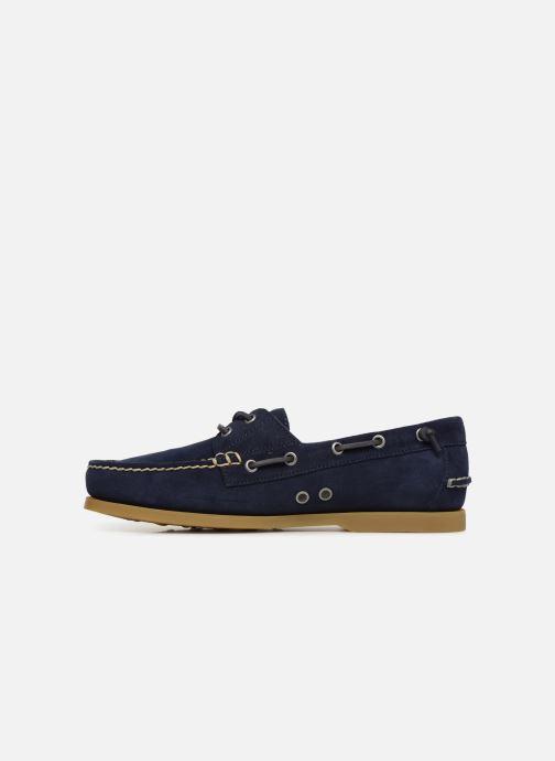 Chaussures à lacets Polo Ralph Lauren Merton Bleu vue face