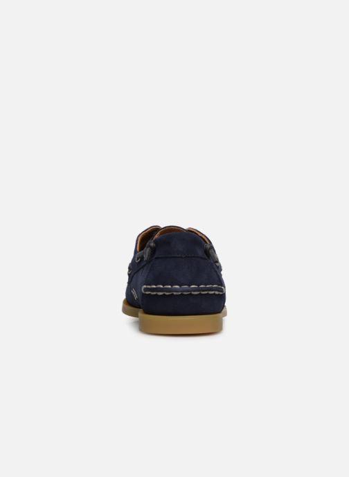Zapatos con cordones Polo Ralph Lauren Merton Azul vista lateral derecha