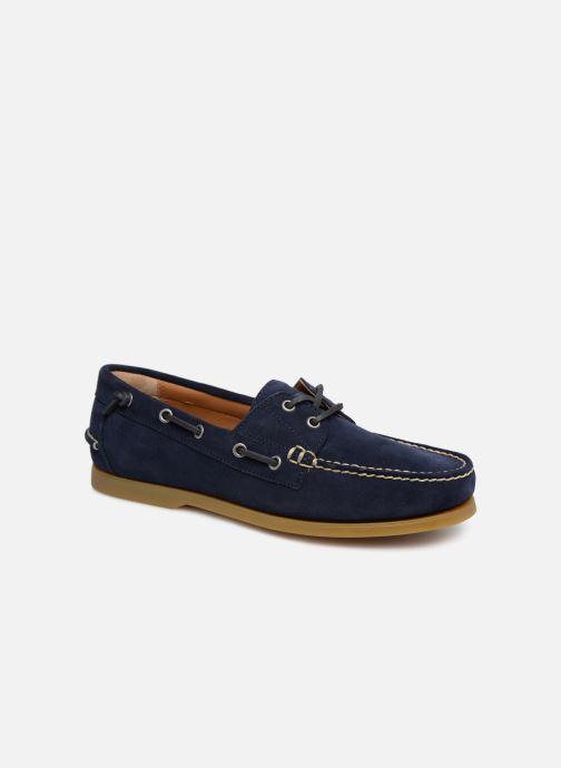 Chaussures à lacets Polo Ralph Lauren Merton Bleu vue détail/paire