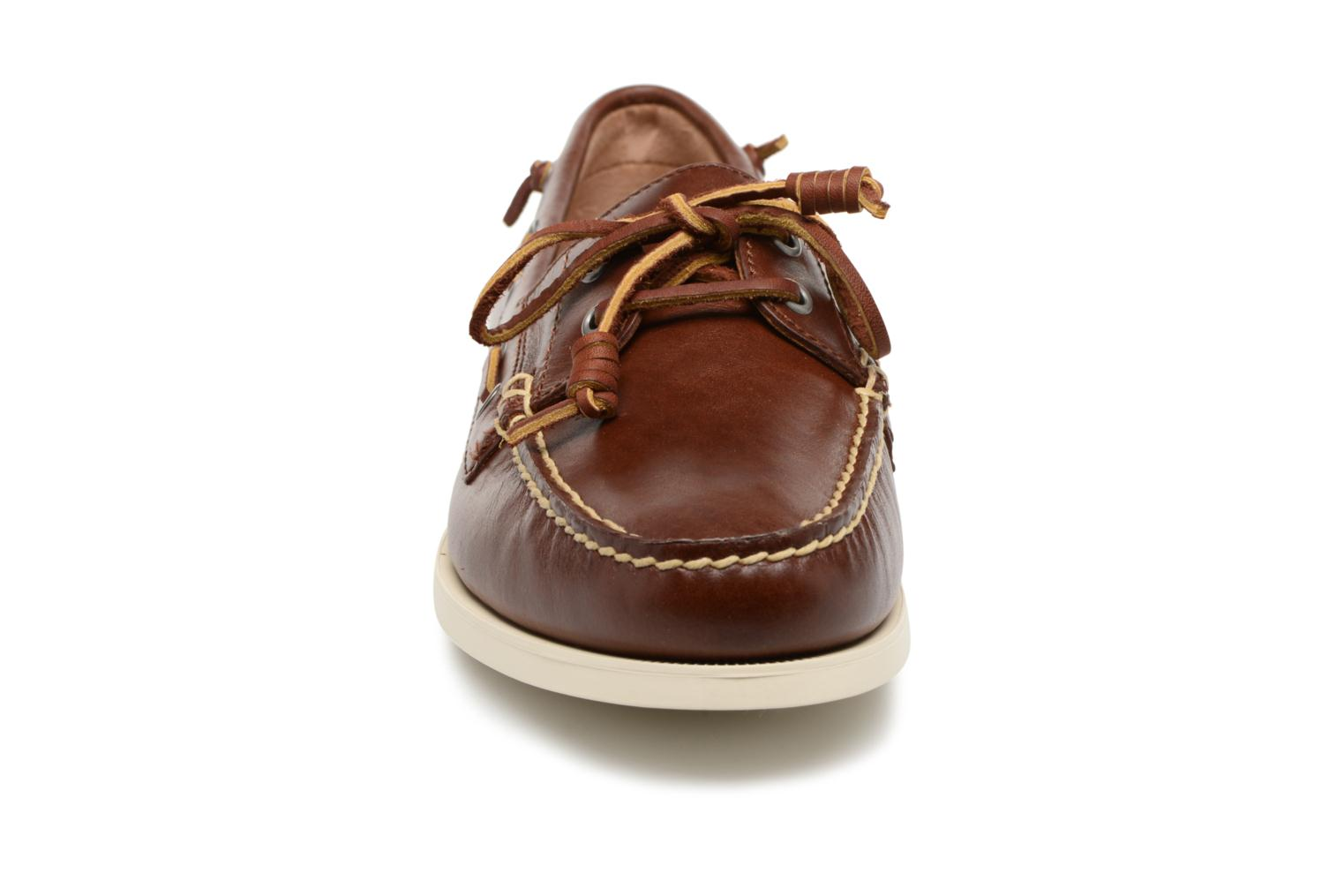 Lace-up shoes Polo Ralph Lauren Merton Brown model view