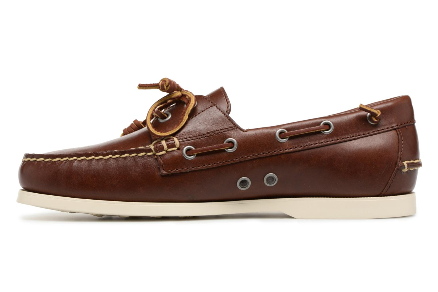 Lace-up shoes Polo Ralph Lauren Merton Brown front view